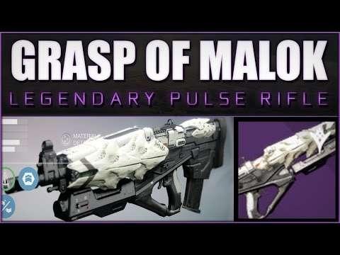 A Hopefully Informative Grasp Of Malok Post That I Wish I Had When Getting Mine : DestinyTheGame